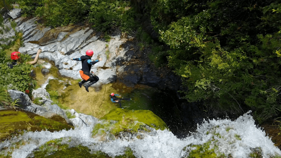 Canyoning Araplakos (2)