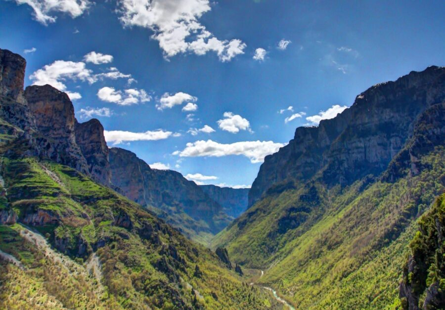 Vikos Gorge Header